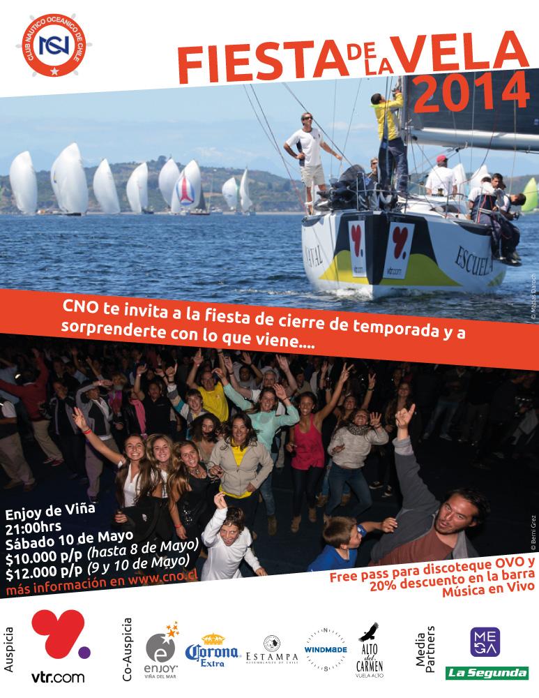 Afiche-Fiesta de la Vela 2014